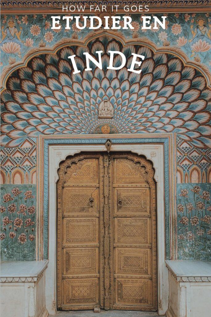Etudier en Inde