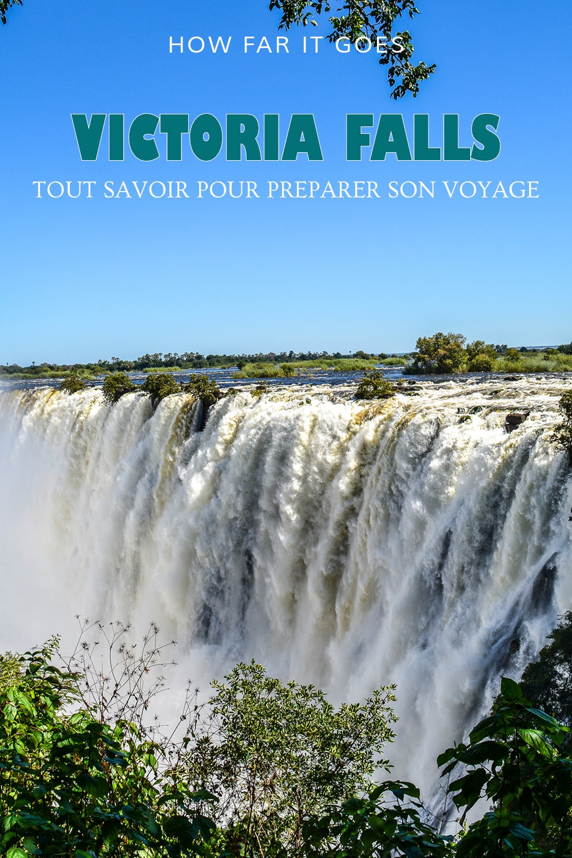 Les chutes Victoria en Zambie