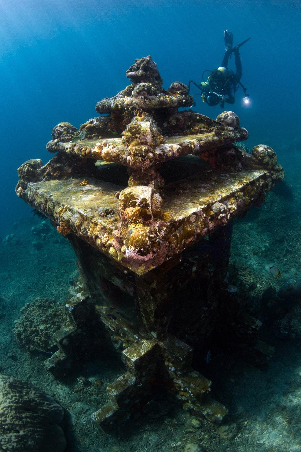 Fonds marins à Amed