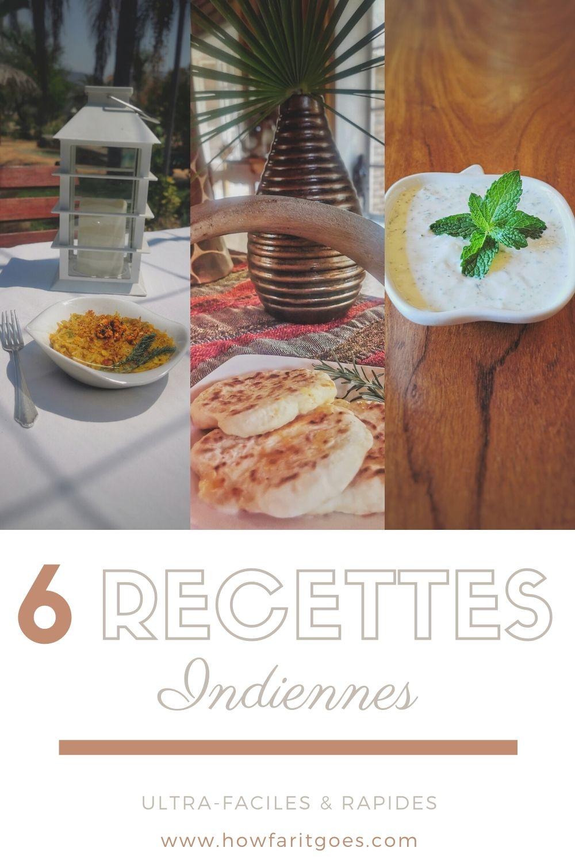 recettes indiennes